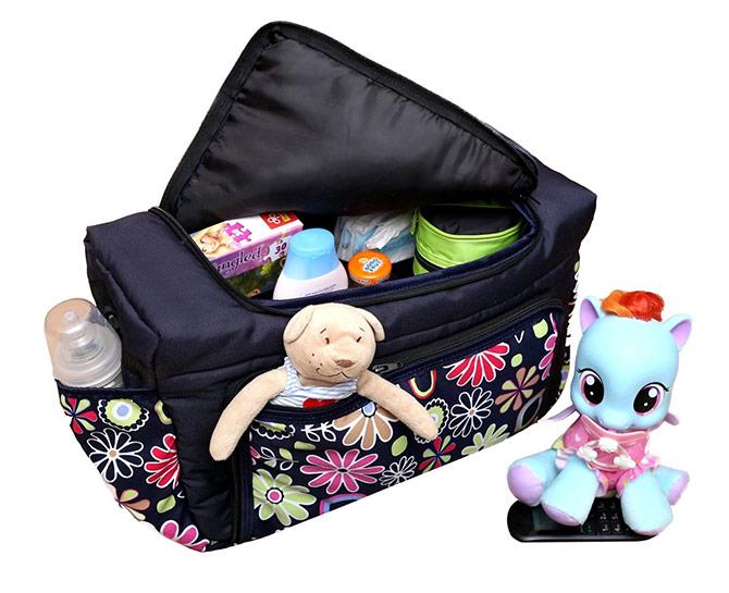 Pflegetasche Babytasche Kindertasche Wickeltasche  Windeltasche in 3 Farbe 5tlg